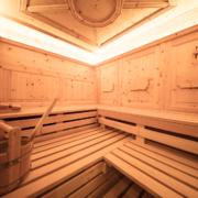 Sauna in Arvenholz