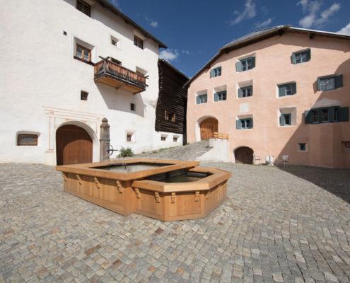 Brunnen Riatsch Ardez
