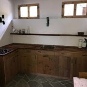 Küche in Altholz
